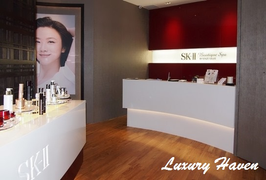 sk-ii boutique spa senzesalus millenia walk outlet