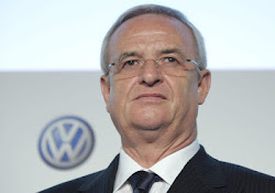 Martin Winterkorn, Volkswagen CEO, Steps Over Emissions Software Scandal