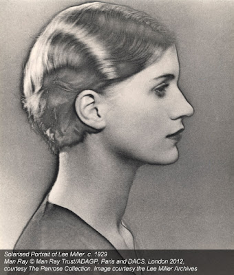 Man Ray - Solarised portrait of Lee Miller, ca.1929