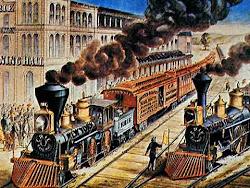 Os primeiros comboios