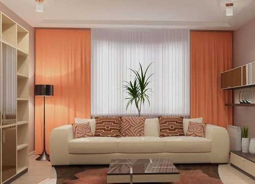 How to choose curtains for living room, style, fabrics and color ideas