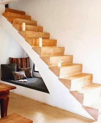 Aprovechar hueco de escalera, lectura.