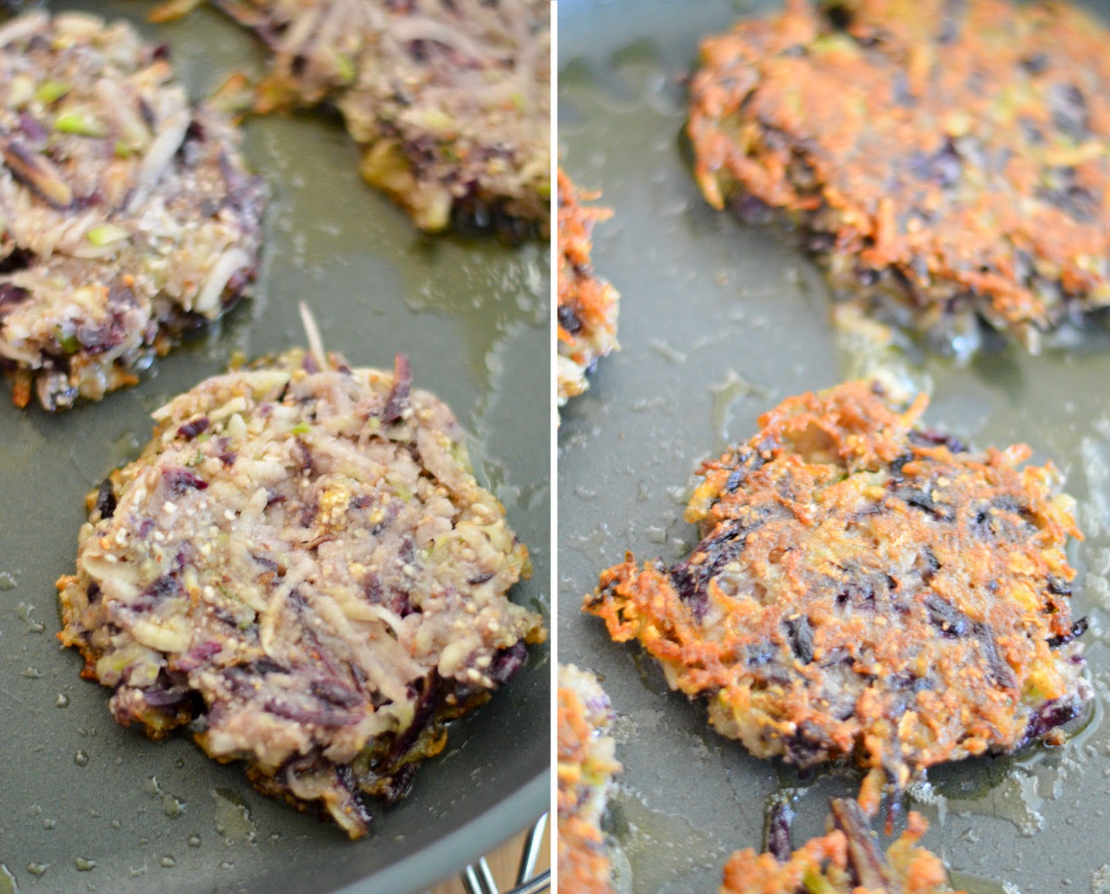 Yummy Thanksgiving Side Dish :: Root Vegetable Latkes | Luci's Morsels