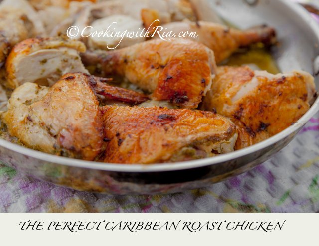 The Perfect Caribbean Roast Chicken Recipe Cookingwithria