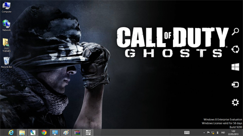 Call Of Duty Ghosts Theme For Windows 7 And 8