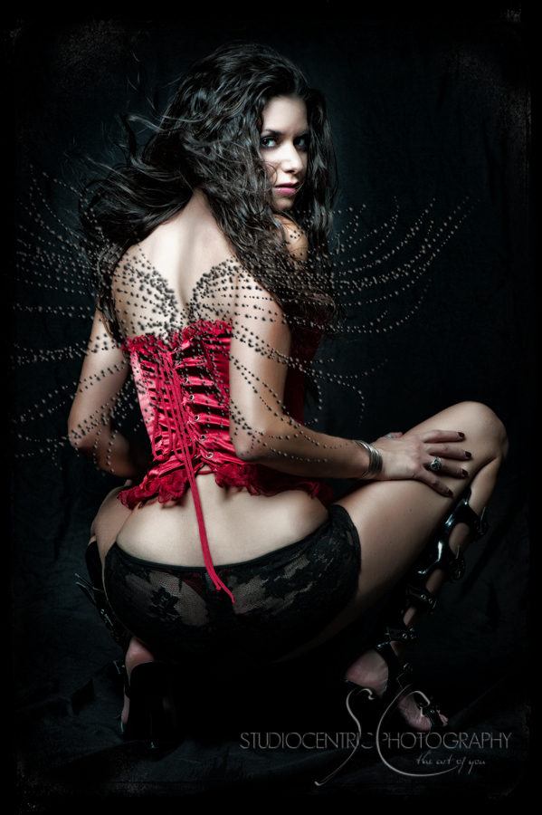 Gothic erotic photography