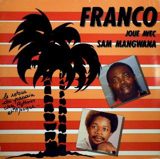 Franco joue avec Sam Mangwana,Rythmes et Musique