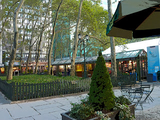 Winter Market Bryant Park