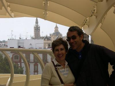 Antonio y M.Carmen en el ParaSol Metropol