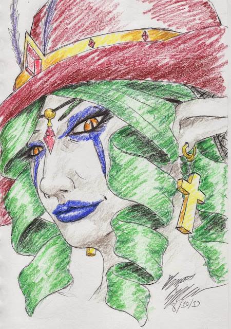 Lilith, DevilSaint, fallen angel
