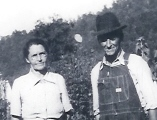 Laura (Back) and Albert Sidney Landrum, ca 1940