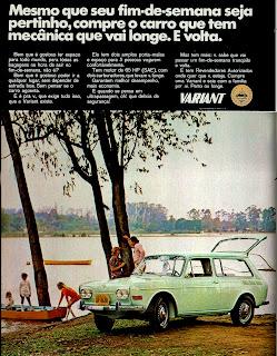 propaganda Variant - 1970. 1970. propaganda carros anos 70.história década de 70; Brazilian advertising cars in the 70s, propaganda anos 70; reclame década de 70. Oswaldo Hernandez;