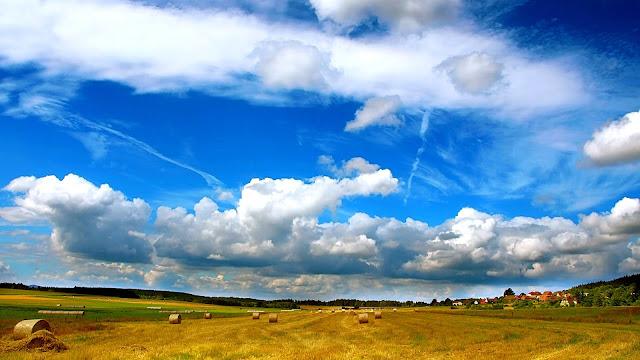 Farmland HD Wallpaper