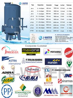 Filter Air Besar Untuk Keperluan Industri Dll