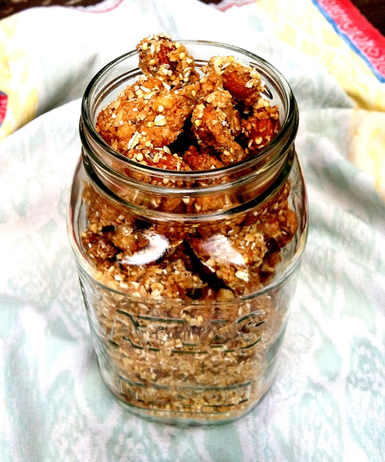 granola crusted nuts