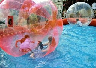 pulire piscina gonfiabile