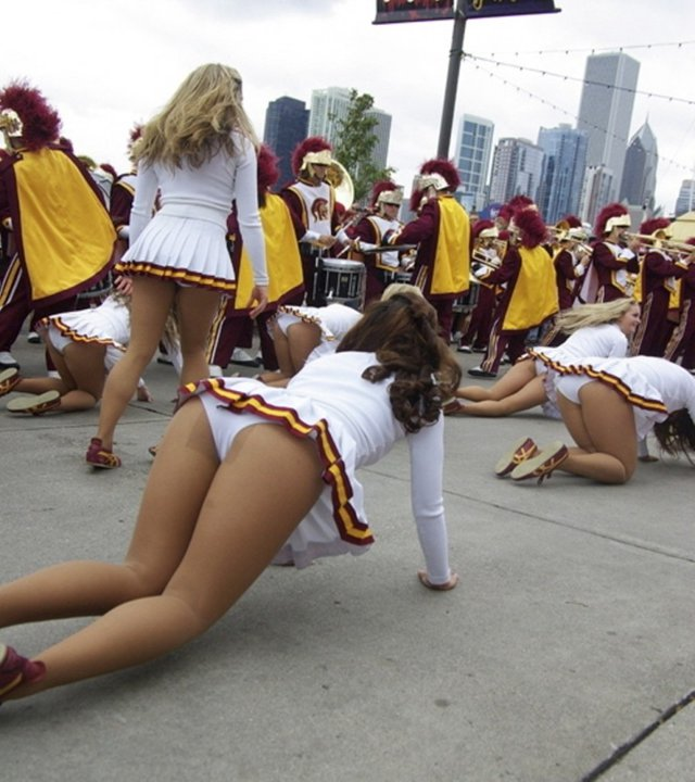 upskirt College tumblr cheerleader