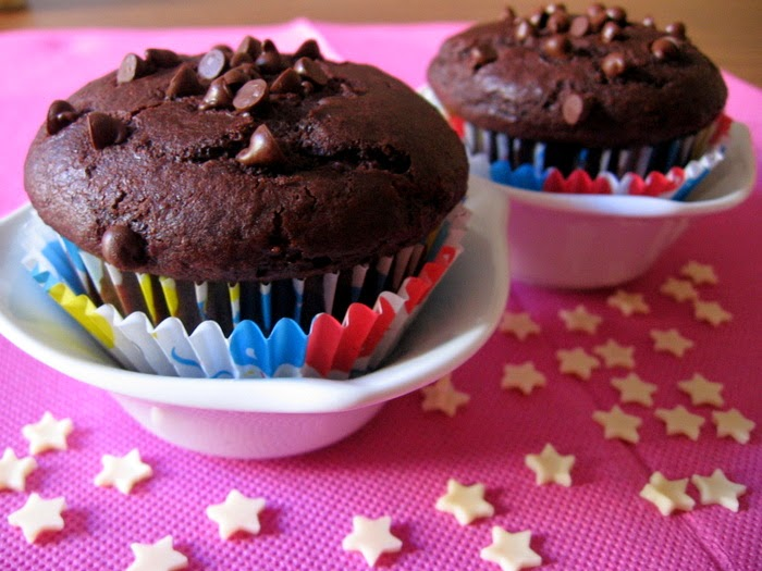 chocolate muffins without eggs