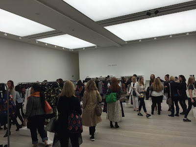 London Fashion Weekend 2015 Saatchi Gallery London