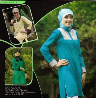 Mazaya Busana Muslim Hijau tosca hitam Biru turkish abu misty krem hijau army