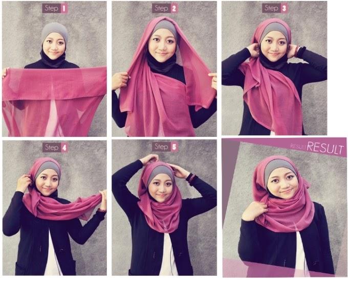 hijab jilbab khimar nisvu merupakan koleksi model jilbab terbaru yang ...