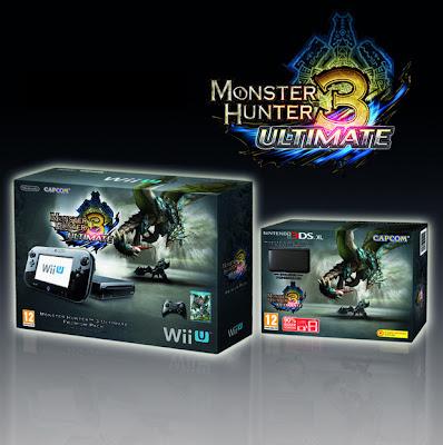 monster hunter 3 mh3 wii u 3ds bundles