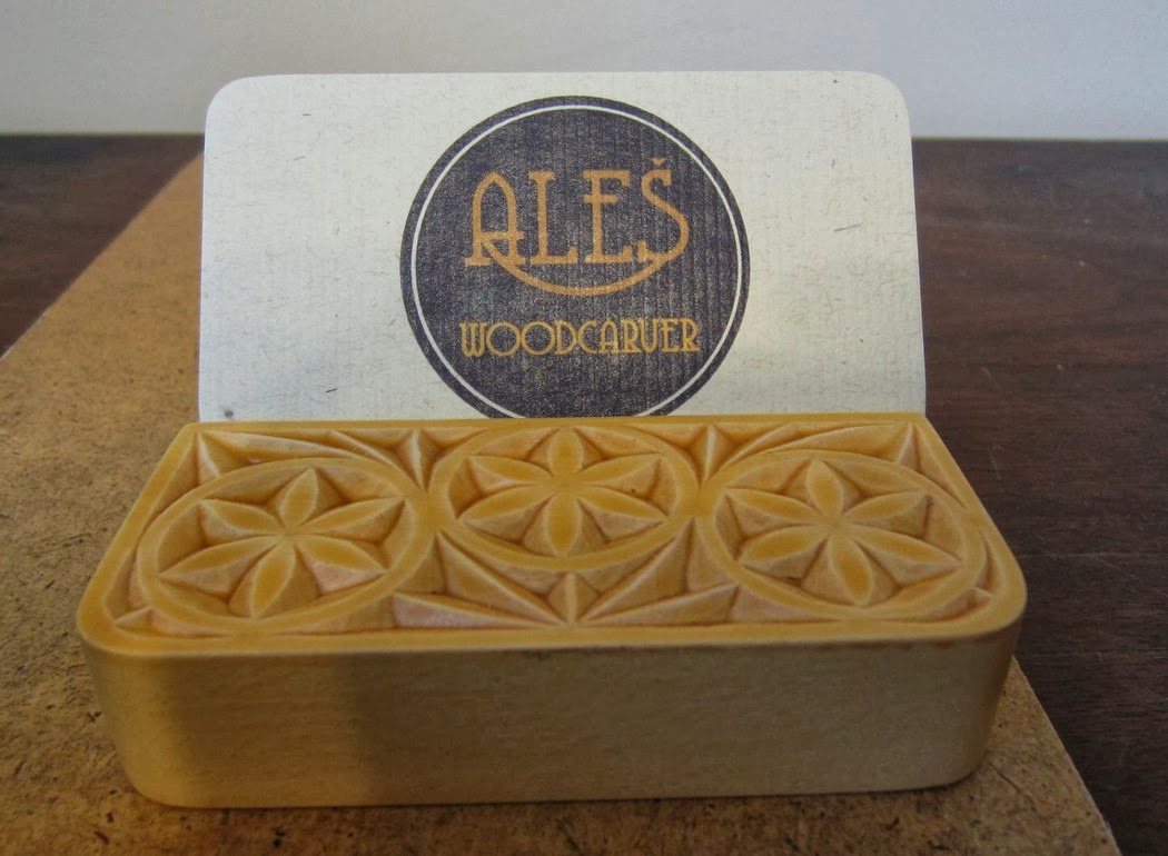 Ales the woodcarver: More business card holders