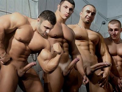 Cuatro Hombres Desnudos