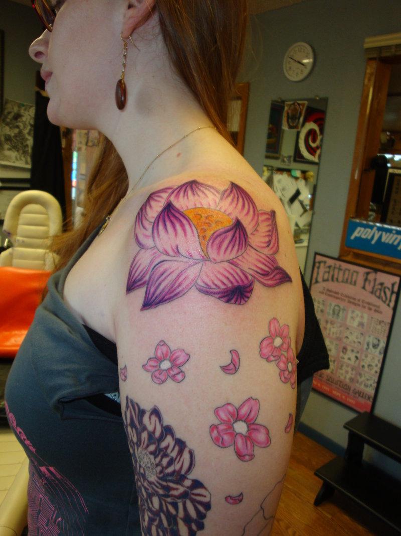 Latest Fashion News Lotus Flower Tattoo