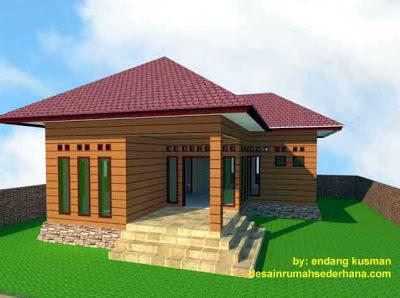 Gambar Desain Rumah Mungil Minimalis2 - 3D