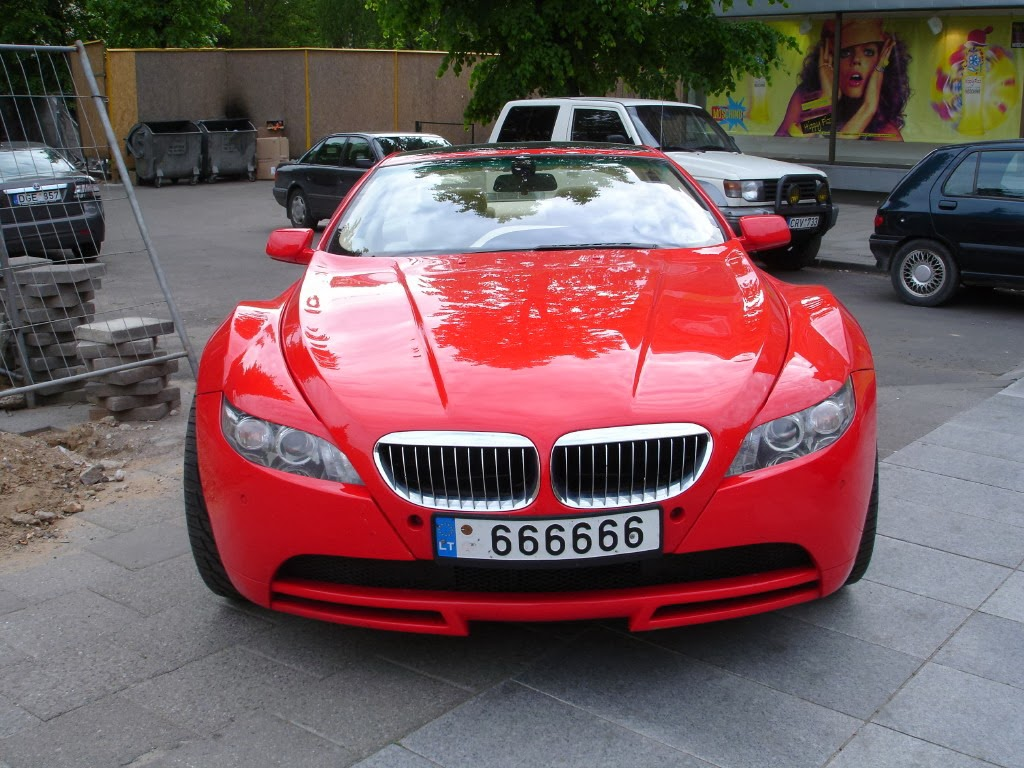 Red BMW Cars