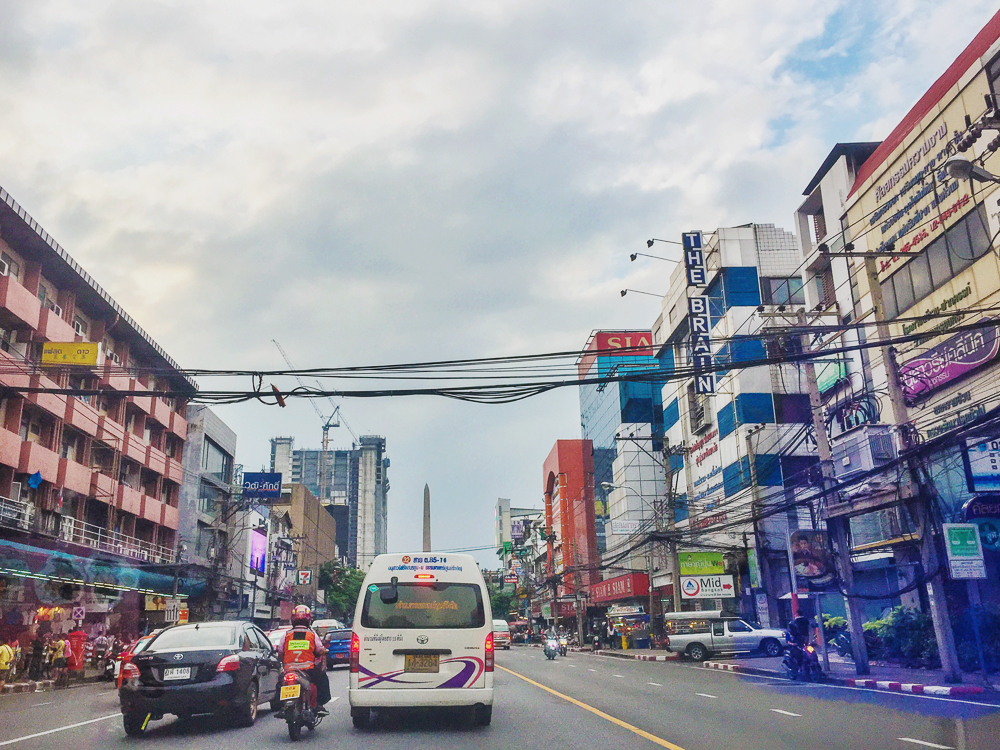 Streets and architecture of bangkok