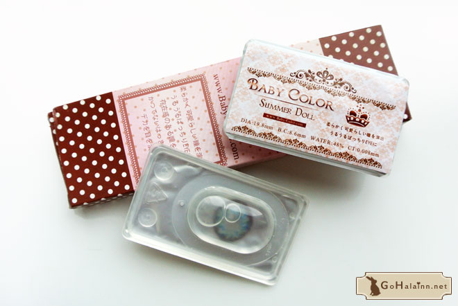 Baby Color Summer Doll Blue Circle Lenses Review