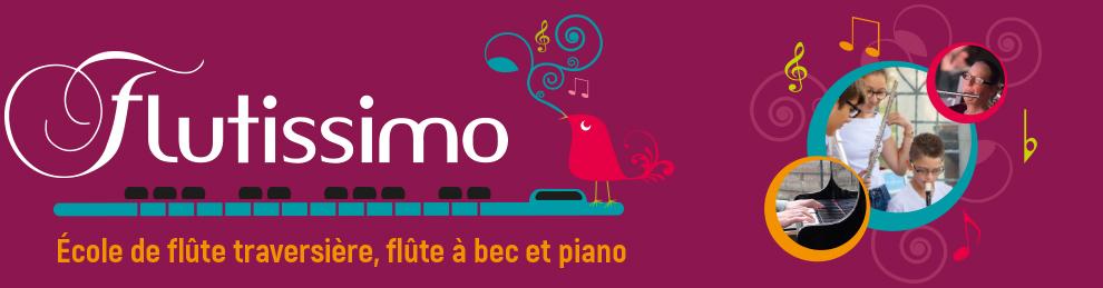 Flutissimo - Ecole de flûte traversière, flûte à bec et piano