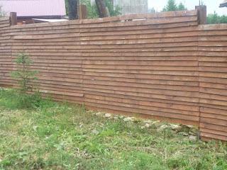 Деревянный забор. Фото 18