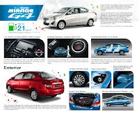 Mitsubishi Motors showroom or log on to www.mirageG4.ph for more
