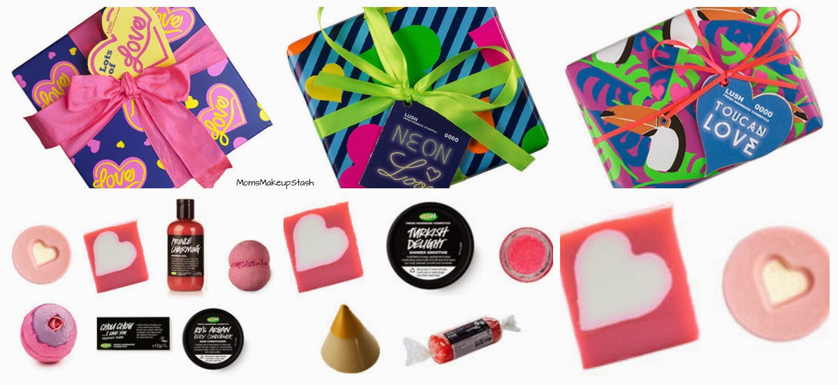 LUSH Valentine's Day, LUSH Gift Sets, LUSH Lots of Love Gift Set, LUSH Neon Love Gift Set, LUSH Toucan Love Gift Set