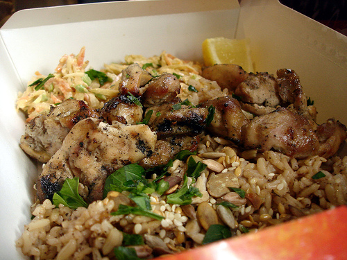 Chicken and Brown Rice (with image, tweet) · turtl3s · Storify