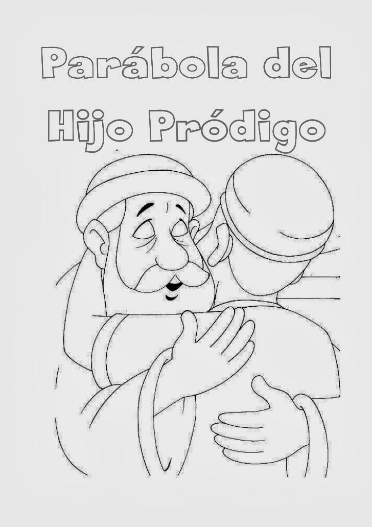 Imagenes Cristianas Para Colorear: Dibujos Para Colorear De El Hijo ...