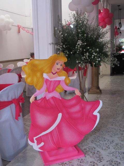 Fiestas princesa disney aurora la bella durmiente - Decoracion fiesta princesas disney ...