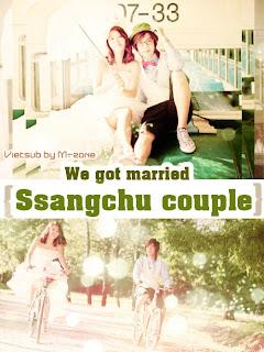 We Got Married - Ssangchu Couple - Huyn Joong & Hwangbo