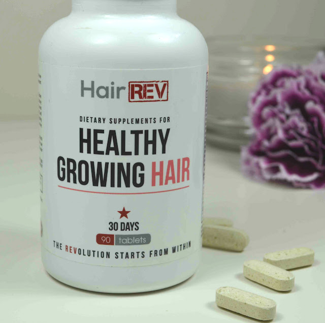 Hair REV - Hair supplements - healthy growing hair - dietary supplements - Hair growth tablets - review