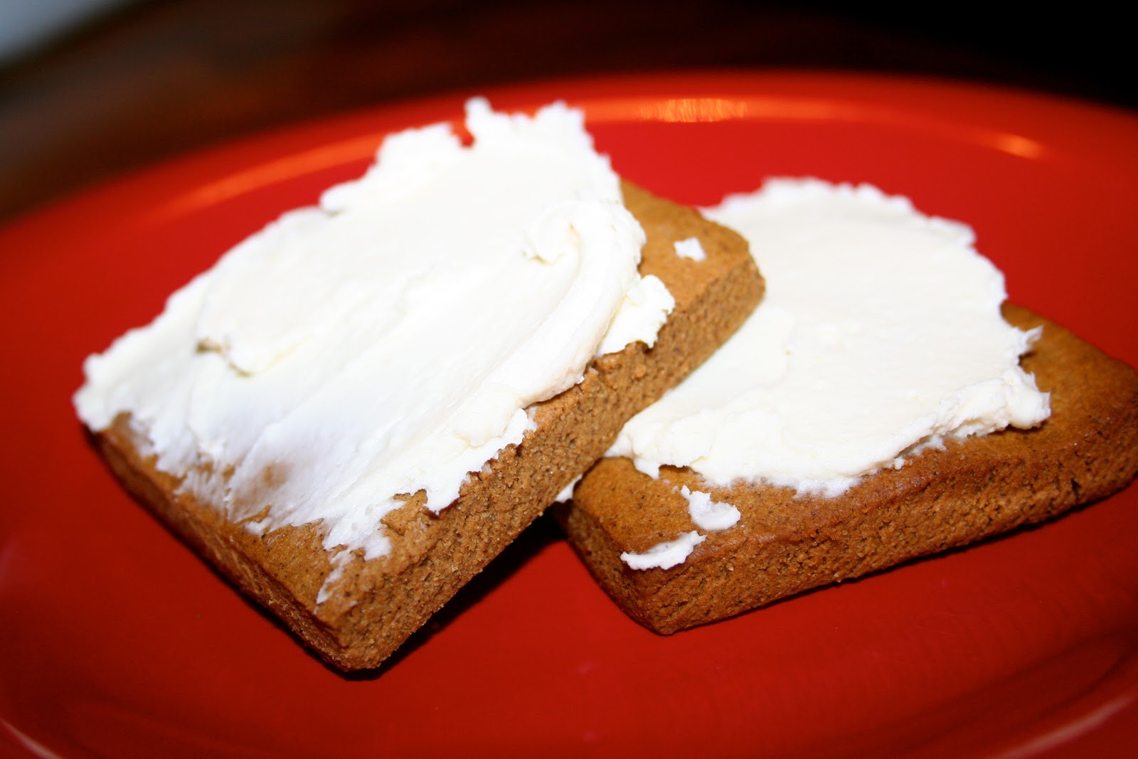 Cooking Allergy Free: Gingerbread Squares with Maple Cream ...