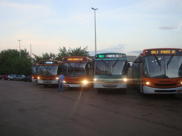 Após manutenção, 35 ônibus voltam a circular nesta manhã