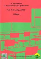 III ENCUENTRO DE MAREAS POR LA EDUCACIÓN PÚBLICA-MÁLAGA-Julio 2015