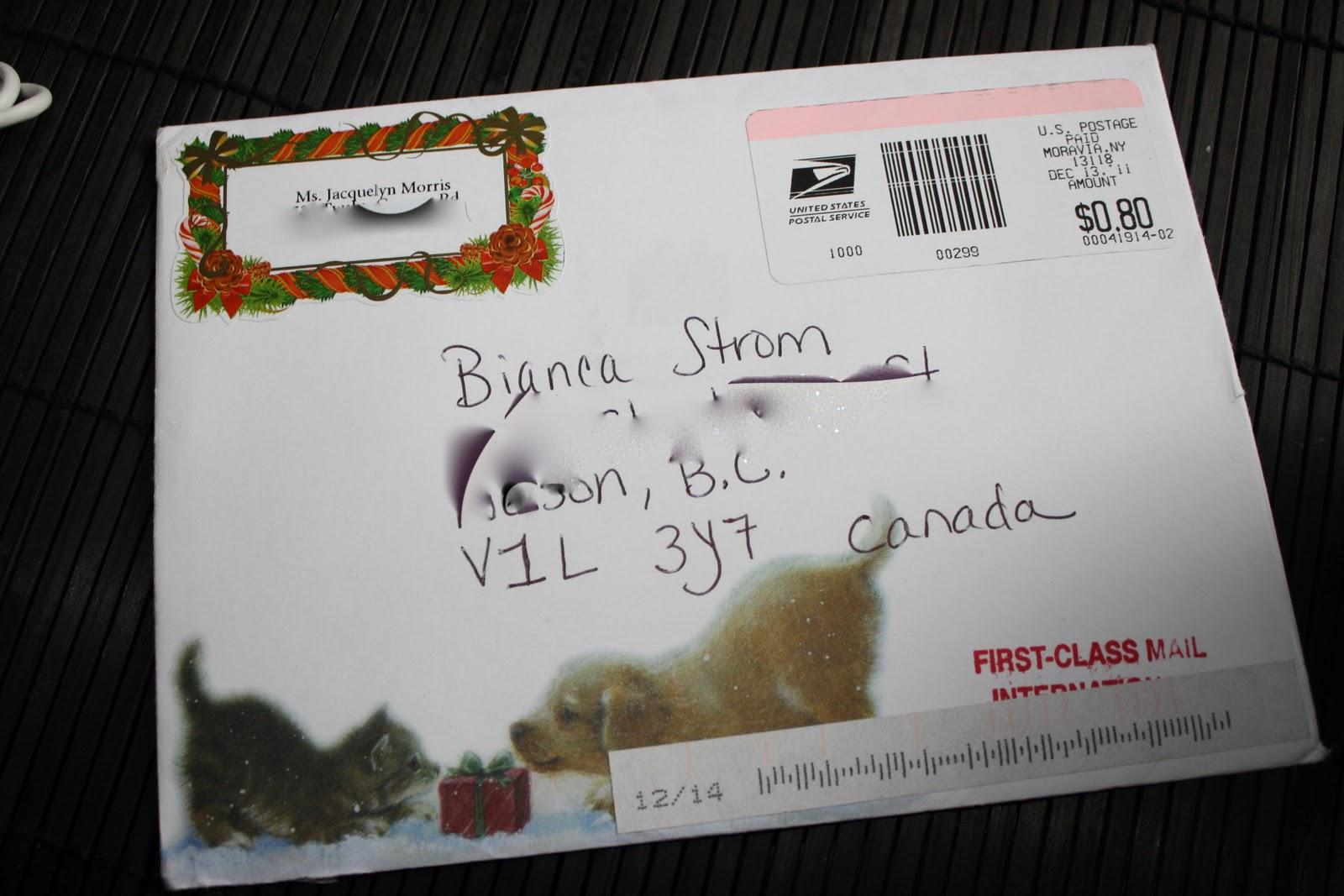 Bianca Strom\'s LifeStream: Christmas Card!! :)
