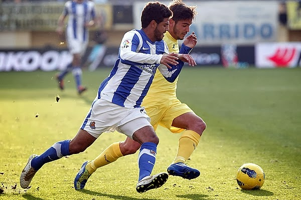 Ver Real Sociedad vs Villarreal en Vivo