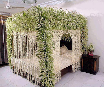Wedding Bed Decoration | V Luv Fash!