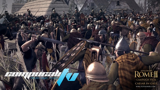 Total War ROME II Caesar in Gaul PC Full