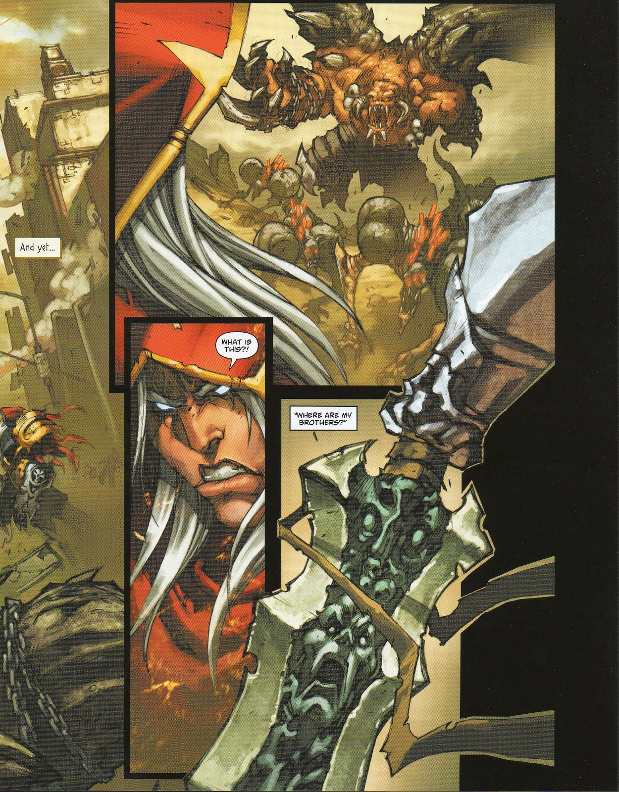 Darksiders Comic Book